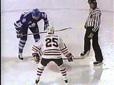 NHL 1993 01 17 Toronto Maple Leafs at Chicago Blackhawks