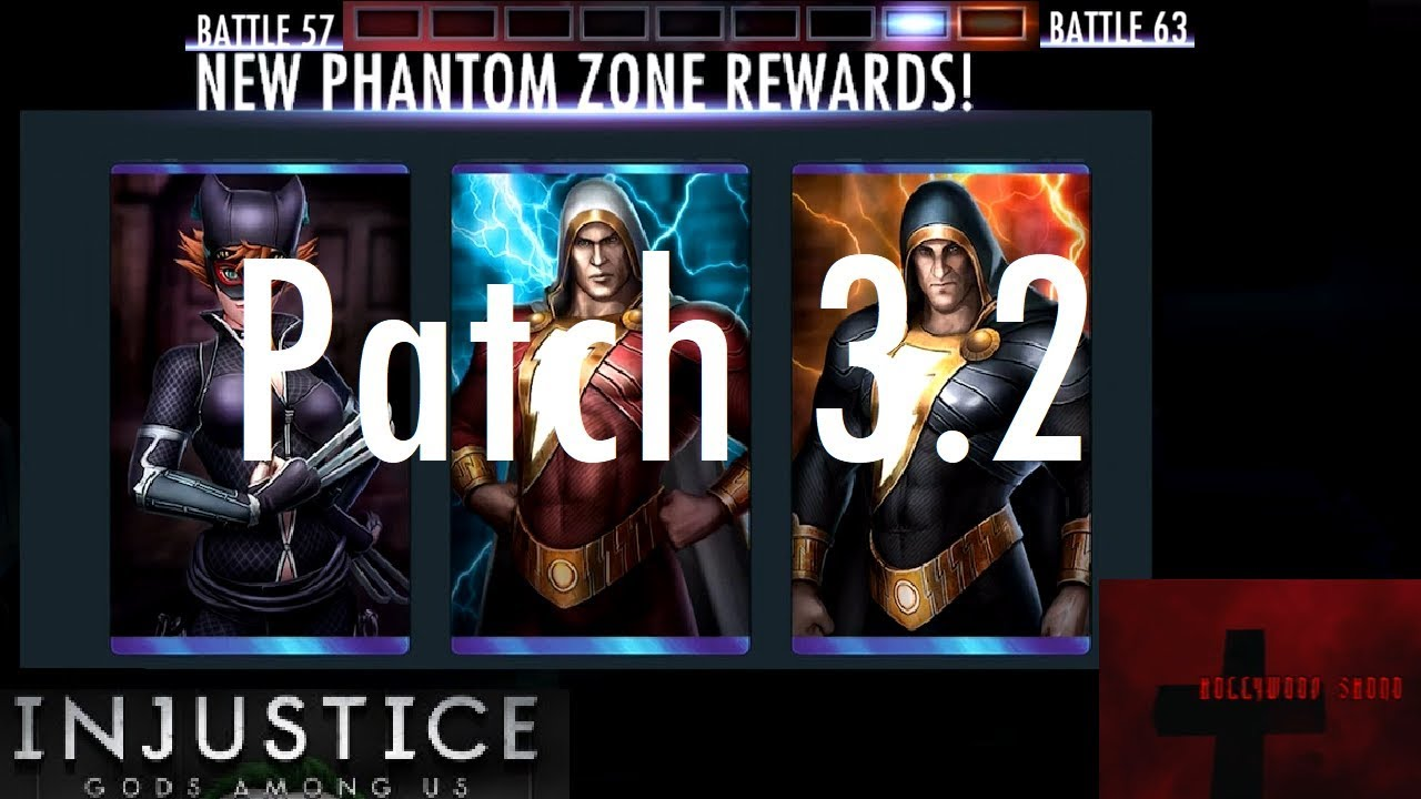 Injustice Gods Among Us iOS - Patch 3 2