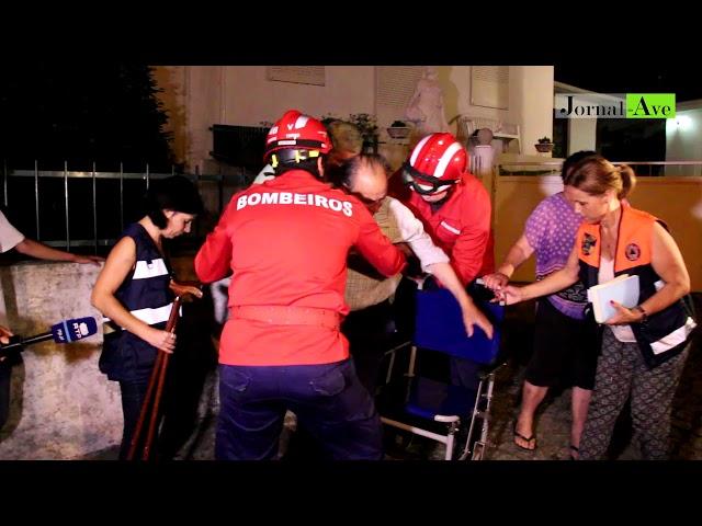 Aldeia evacuada na Agrela em Santo Tirso