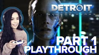 Detroit: Become Human PART ONE - Valkyrae Full Playthrough