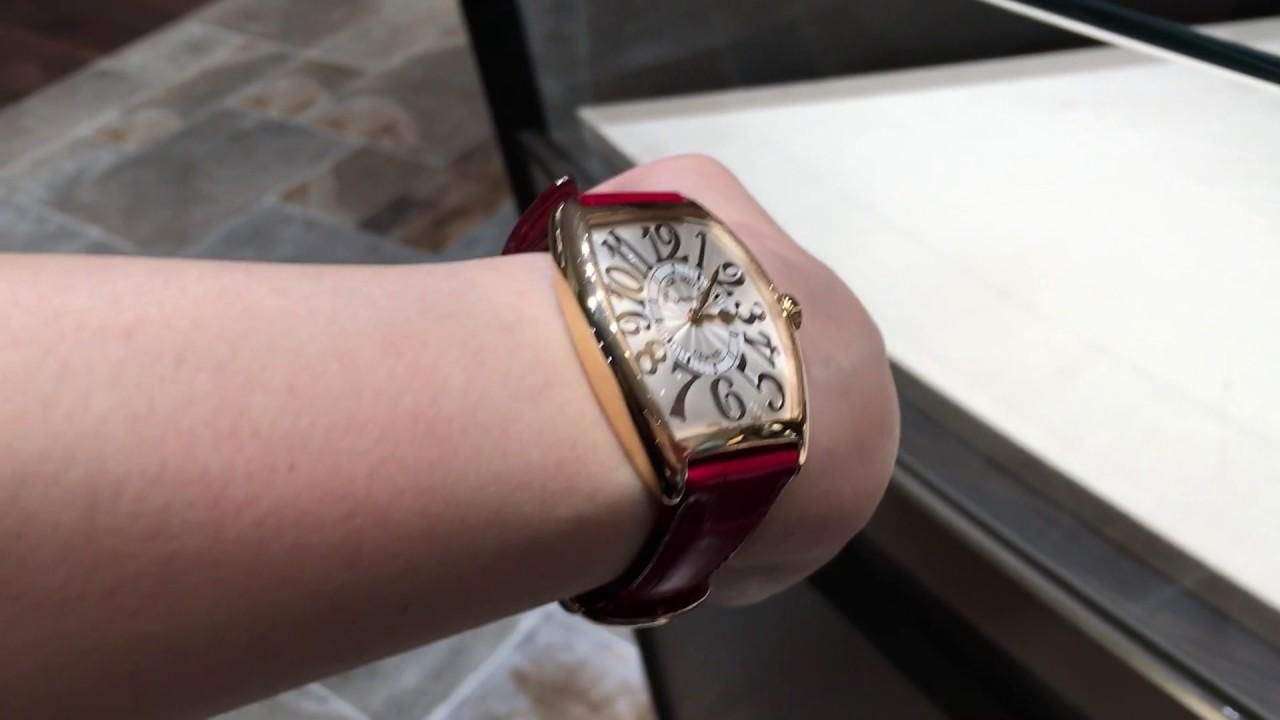 on sale 672d2 abe38 【GINZA SIX】フランク・ミュラー(FRANCK MULLER)の時計 メンズを女性がつけても可愛い