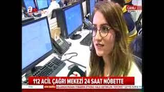 112 acil komuta merkezi - A haber Erdal kuruçay