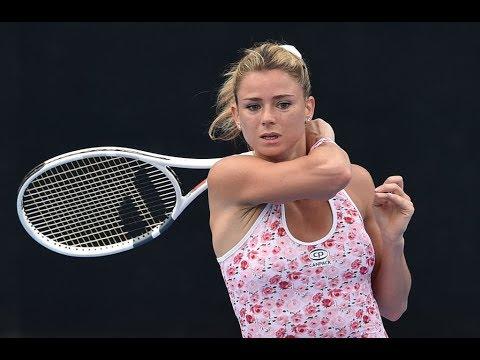 2018 Sydney International Second Round | Camila Giorgi vs Petra Kvitova | WTA Highlights