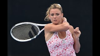 2018 Sydney International Second Round | Camila Giorgi vs Petra Kvitova | WTA Highlights