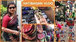 Kolkata Street Shopping || Hatibagan Vlog || Most Affordable Shopping in Kolkata