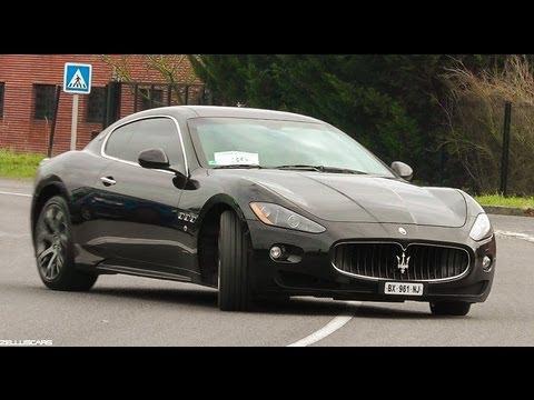 Fast Ride in Maserati GranTurismo S - LOUD SOUND !! - YouTube