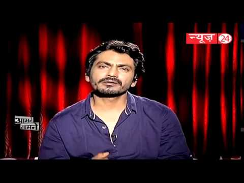 Nawazuddin Siddiqui is an Indian film actor who works in Hindi cinema || आमने सामने