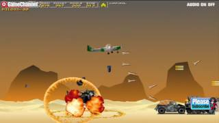 Ben10 Overkill Apache / Shootem Up / For Children / Browser Flash Games / Gameplay Video