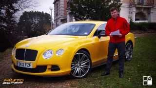 Bentley Continental GT Speed Test Drive AutoStrada.MD