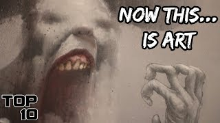 Top 10 Scary Art Collections