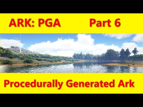 Let's Play ARK: Part 6, A new seed, 513. Procedurally Generated Map