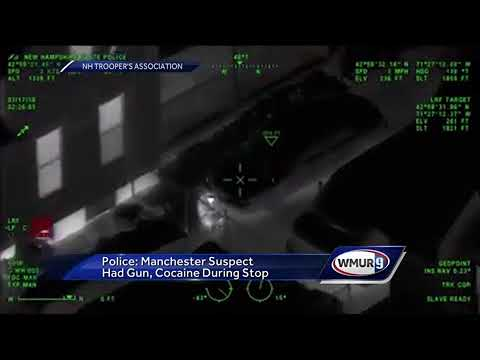 Manchester K9, State Police Helicopter aid in search and arrest