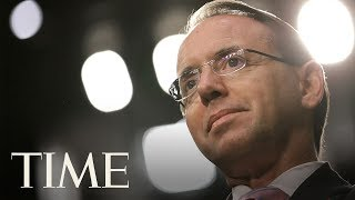 Rod Rosenstein Will Meet With President Trump Thursday After Reports That He Was Being Fired   TIME