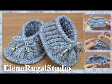 Видеоуроки вязания крючком пинеток