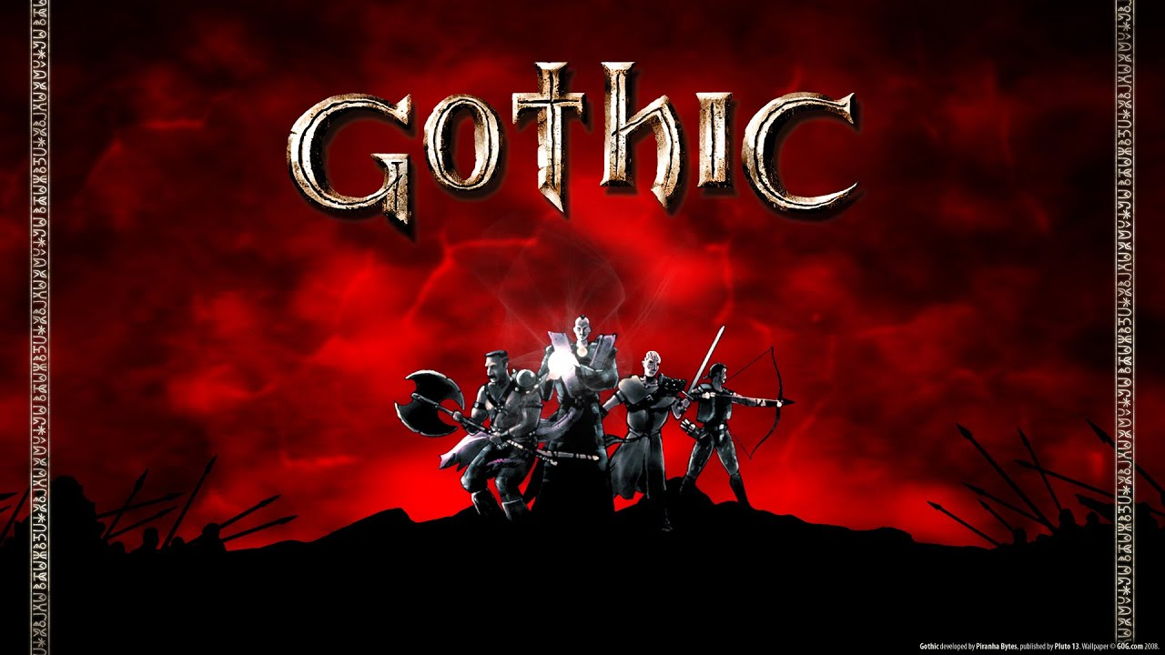 знакомство с болотным лагерем Gothic6 Youtube