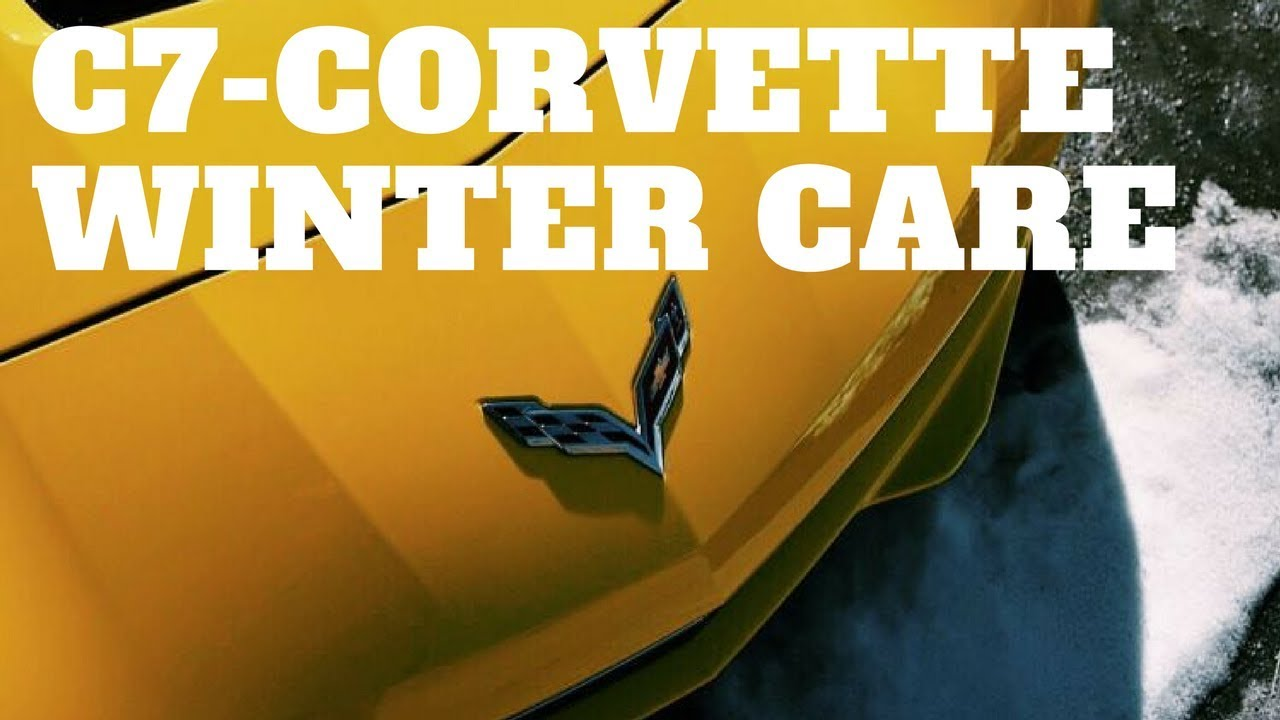 C7 Corvette Winterizing Battery Tender Winter Care