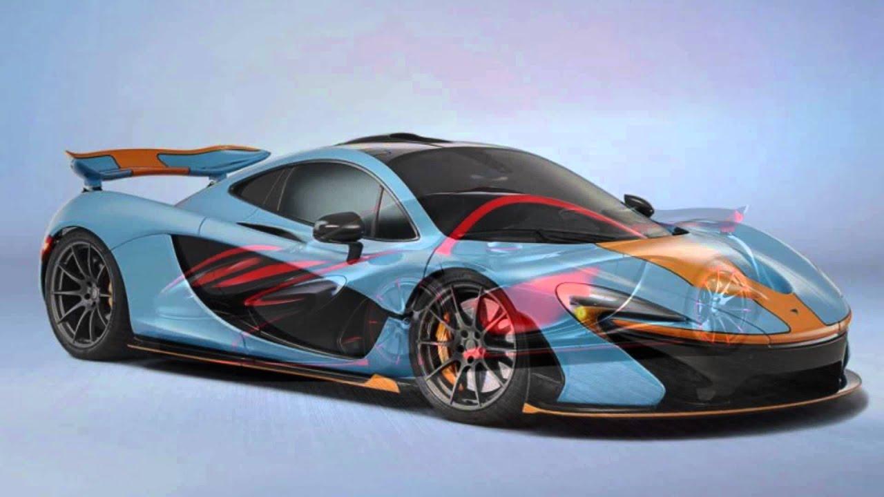 World Most Beautiful Car McLaren P1   YouTube