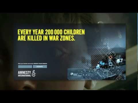 Amnesty International AD Battlefield 3