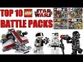Top 10 LEGO Star Wars Battle Packs!