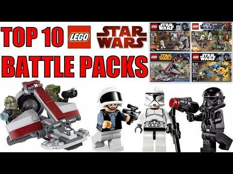 Top 10 LEGO Star Wars Battle Packs!