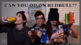 CAN YOU OVERDOSE ON SODA?! | Redbull Taste Test