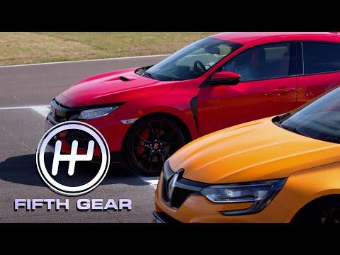 Honda Civic Type R VS Renault Sport Megane R.S. | Fifth Gear