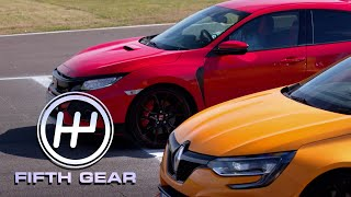 Honda Civic Type R VS Renault Sport Megane R.S. | Fifth Gear