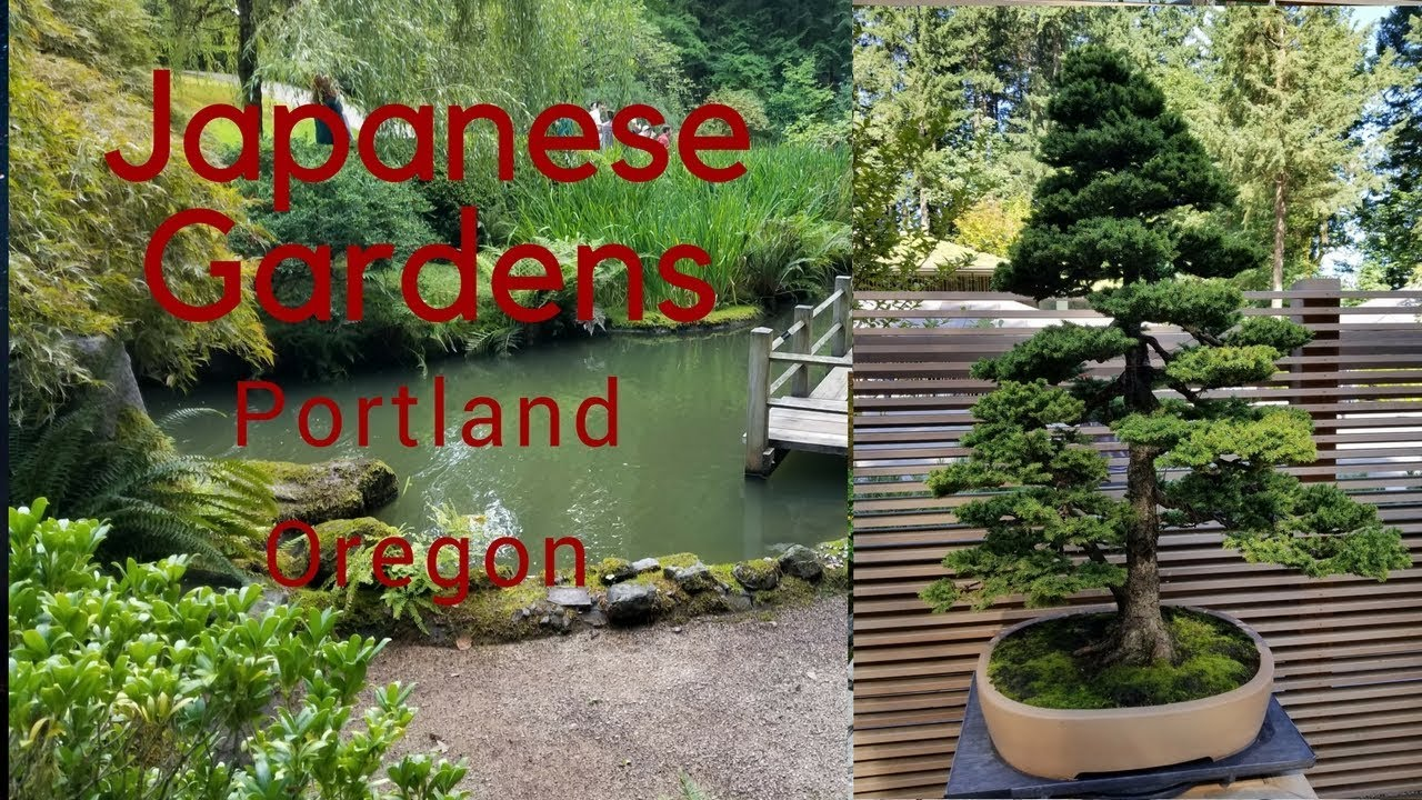 Japanese Gardens Portland Oregon 2017 Youtube
