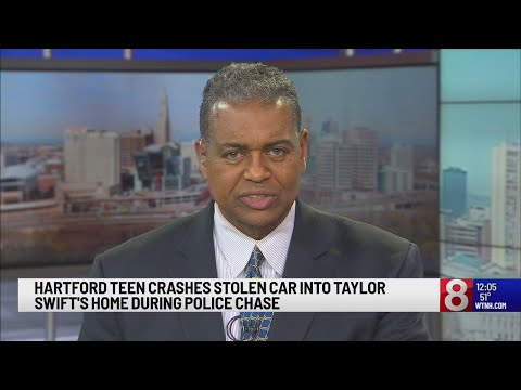 Hartford Teen Crashes Stolen Car Into Taylor Swift S Home During
