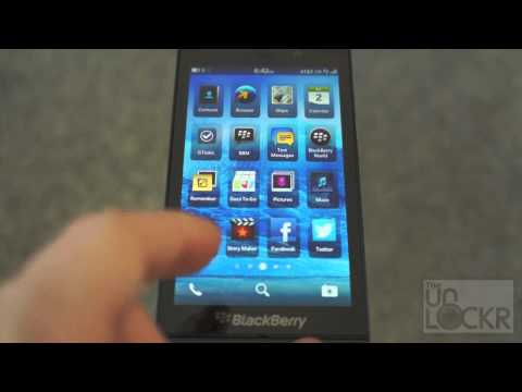 How To Use the Blackberry Z10 (Navigate the OS)