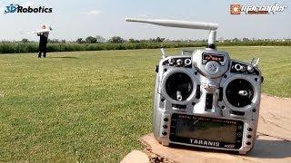"APM Plane V3.0.1 - Full automatic takeoff (""X8 Skywalker"" with ""Pixhawk"")"