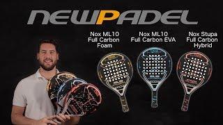 Análisis palas Nox Full Carbon (Hybrid, EVA y Foam)