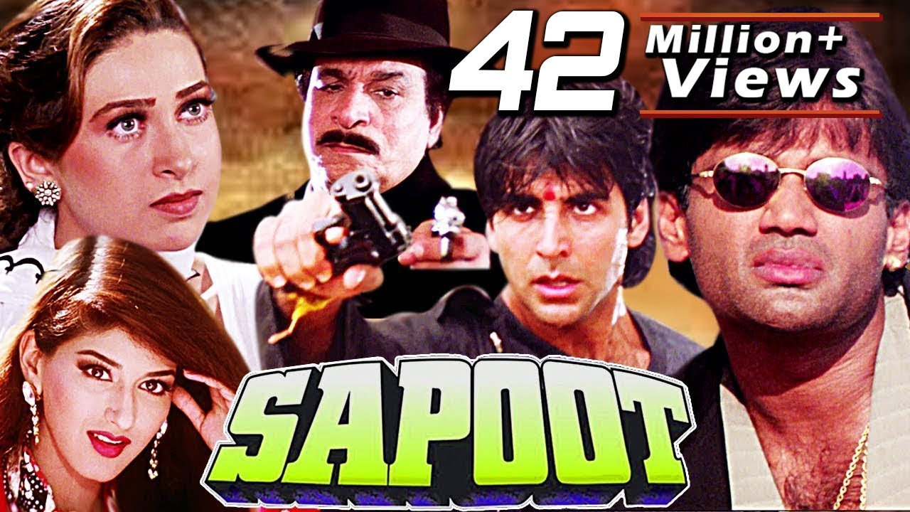 Sapoot Full Movie | Akshay Kumar | Bollywood Action Movie | Sunil Shetty | Hindi Action Movie in HD