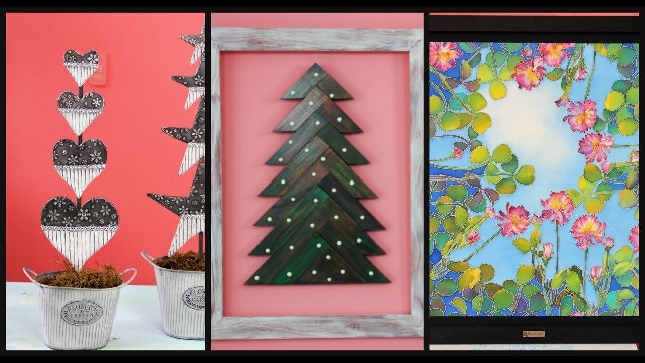 Manosalaobratv programa 97 arbol de navidad en madera for Ambientacion para navidad