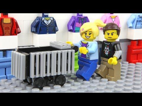 Lego Shopping Fail – Unlucky Lego Man