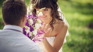 Ванильно-фиолетовая свадьба / Свадебное слайдшоу (HD)