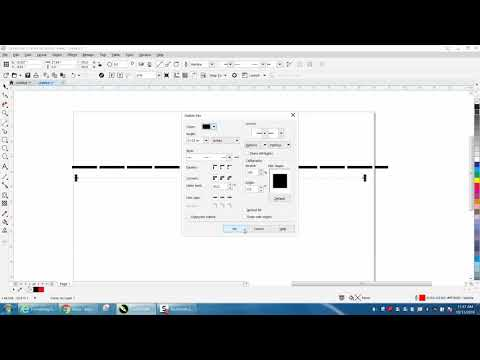 Corel Draw Tips & Tricks Dotted Or Dashed Lines More Info