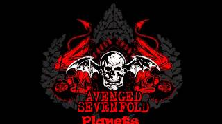 Gambar cover Avenged Sevenfold planets  8bit