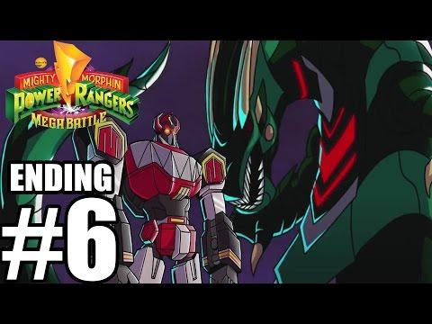 Mighty Morphin Power Rangers: Mega Battle ENDING FINAL BOSS - Gameplay Walkthrough Part 6