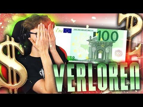 100 Euro Verloren
