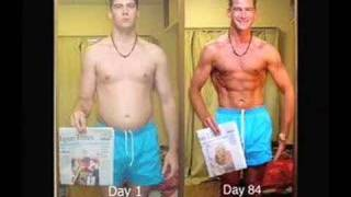 84 Days In 48 Seconds: Weight Loss Time Lapse