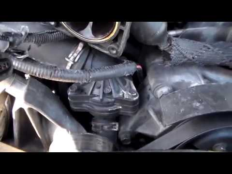 How to replace the thermostat on a Ford Exploer 97-2001 - YouTube