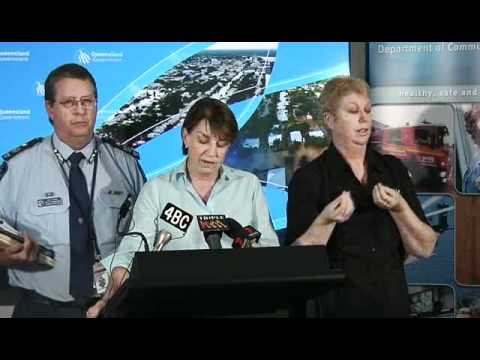 Media Conference - 9:30am, Speaker Premier Anna Bligh, Friday Jan 14