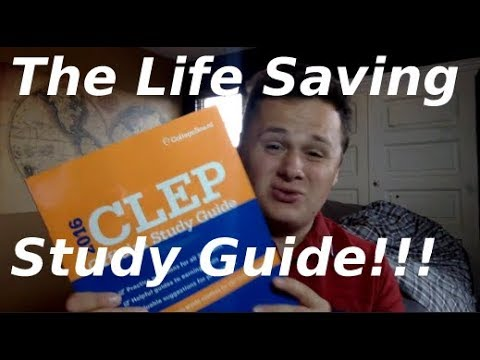 Using The CLEP Official Study Guide...