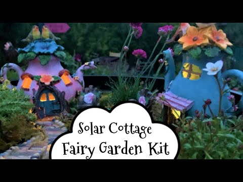 Solar Fairy Cottage Garden Kit