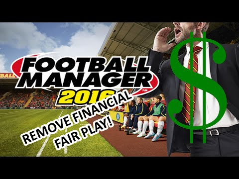 Football Manager 2016 Tutorial - Remove Financial Fair Play (FFP)