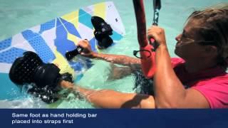 ISAF Kiteboard Water Start