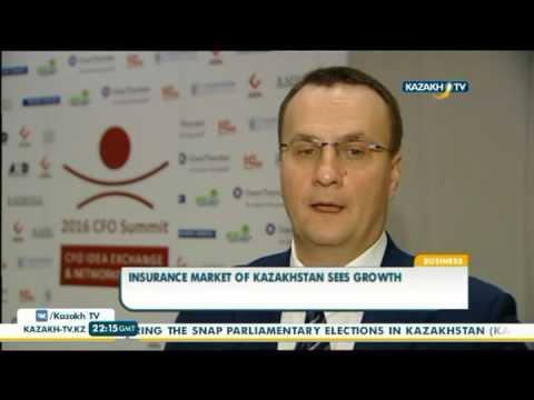 Insurance market of Kazakhstan sees growth - Kazakh TV