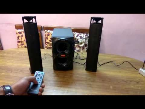 Philips IN-MMS4200/94 2.1 Multimedia Speaker System convertible Soundbar UNBOXING
