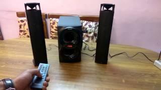 Philips IN-MMS4200/94 2.1 Multimedia Speaker System convertible Soundbar UNBOXING